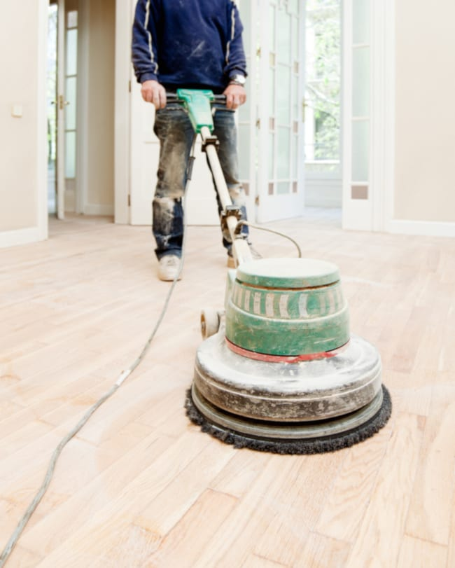 Avoiding Swirl Marks When Hardwood Floor Sanding