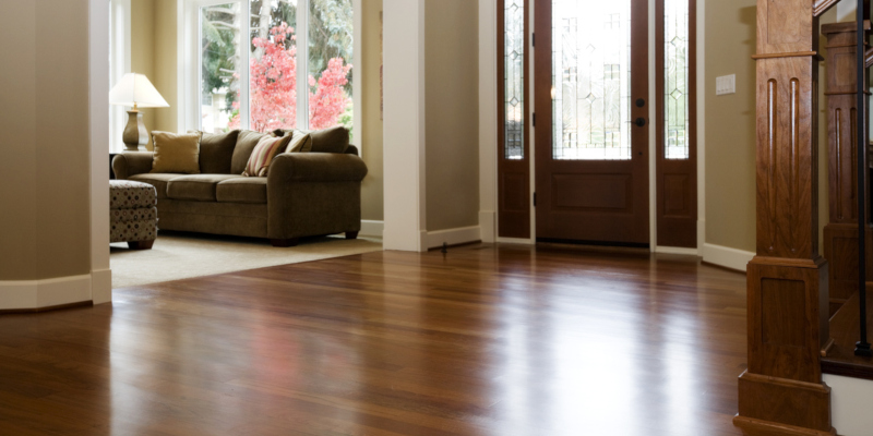 Brazilian cherry flooring is a popular option among homeowners